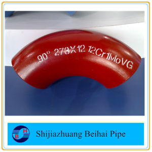 ASME B16.9 Alloy Steel Pipe Fittings Elbow Butt Welded ASTM A234 Wp5 pictures & photos