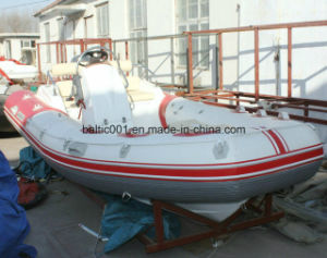 Inflatable Rigid River Boat for Sale 470 Ce pictures & photos