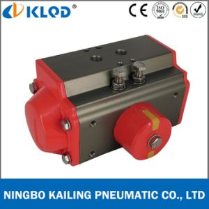 at-50d Aluminum Material Double Acting Compact Small Pneumatic Actuator pictures & photos