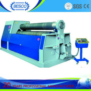 4 Rolls Bending Machine & 4 Roller Plate Bending Machine & 4 Roller Plate Bender pictures & photos