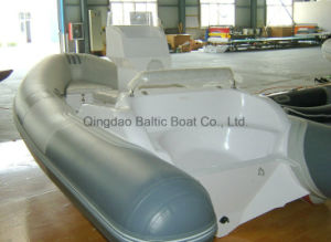 Boat in China with PVC Tube Sale Rib 420 Ce