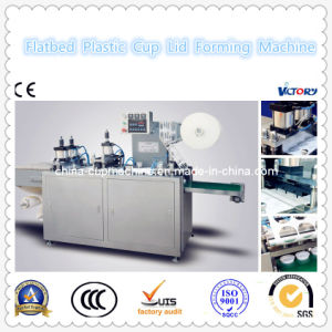 CE Standard Automatic Plastic Cup Lid Forming Machine