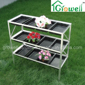 Aluminium Seed Tray Shelving for Greenhouse (S313-S12) pictures & photos