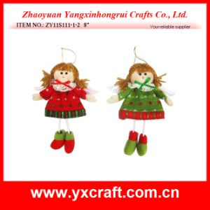 Christmas Decoration (ZY11S270-1-2-3) Christmas Angel Gift Ornament pictures & photos