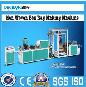 Automatic Non Woven Fabric Bag Making Machine pictures & photos