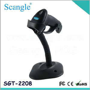 Laser Barcode Scanner /with Stand / Wtih Autoense (SGT-2208) pictures & photos