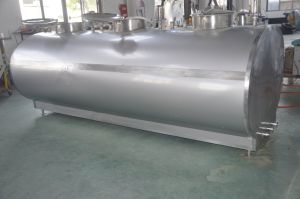Stainless Steel 2000L Dairy Milk Transport Vat pictures & photos