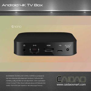 Smart TV Box Based on Arm Cortex A53 64bit Processor. 2GB+32GB Quad Core Tvbox Customization pictures & photos