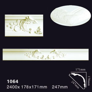 1064 White Primed PU Moulding/Casing/Based Board