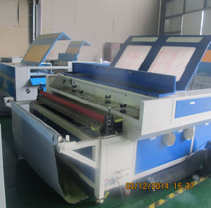 Double Heads Fabric Auto Feeding Laser Engraving and Cutting Machine pictures & photos