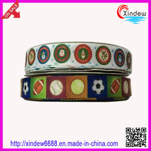 Printed Grosgrain Ribbon pictures & photos
