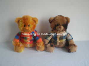 Plush Big Sitting Teddy Bear Toy with Clothes pictures & photos