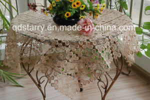 St3896 Full Lace Table Cloth pictures & photos