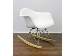 Fiberglass Charles Eames Rocking Chair (A-0113)
