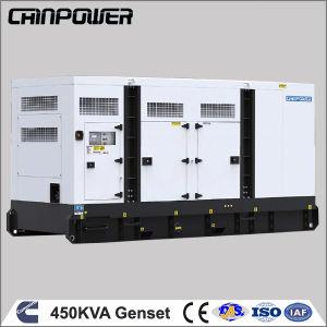 450kVA Diesel Engine Generator with Low Rpm Alternator
