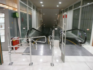 Swing Gate, Supermarket Gate, Exit Gate, Mechanical Turnstile pictures & photos