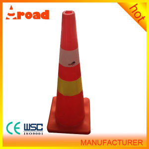 Reflective Road Safety Equipment Plastic Used Traffic Cone pictures & photos