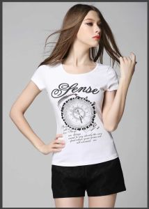 2015 New Style Printing Short Sleeve Women′s T-Shirts for Summer pictures & photos