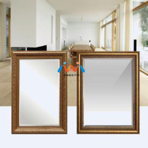 Wood Color Floor Standing Mirror pictures & photos