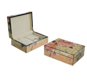 Loving Blossom Pattern Wooden Jewel Boxes pictures & photos