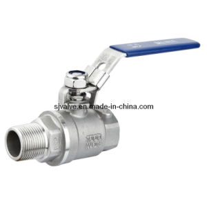 CF8 Full Port F/M Ball Valve with Locking Device pictures & photos