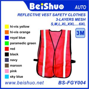Roadway Reflective Safety Breathable Vest pictures & photos