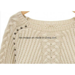 Kids Texture Knitted Sweater for Girls pictures & photos