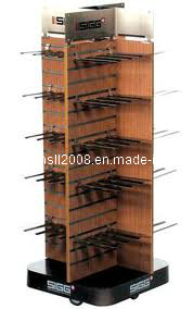 Wooden Spinner Slatwall Fixture for Display (Gier-SL03) pictures & photos