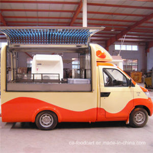 Gasoline Vending Food Truck pictures & photos