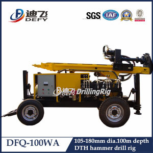 Small Dfq-100wa Truck Mounted Water Well Drilling Machine for Sale pictures & photos