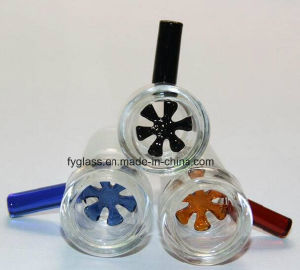 Sheet Reticular Glass Slide Bowl for Glass Water Pipe pictures & photos