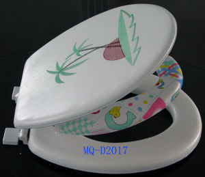 6cm Baby New Handle Soft Toilet Seat pictures & photos