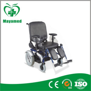 Ma154 Deluxe Indoor/Outdoor Electric Reclining Wheelchair pictures & photos