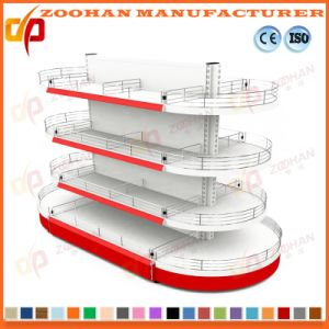 New Customized Supermarket Retail Display Wooden Shelf (Zhs257) pictures & photos