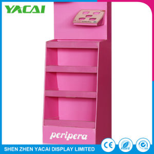 Recycled Paper Floor-Type Display Stand Exhibition Rack for Stores pictures & photos
