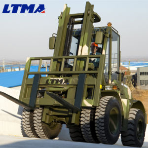 5 Ton China All Terrain Diesel Forklift Truck Sales pictures & photos
