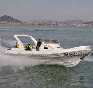 Liya 27FT Inflatable Boat Manufacturers Hypalon Rib Boat China pictures & photos