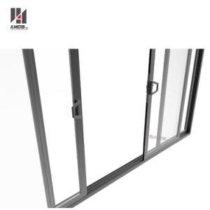 Commercial Double Glass Aluminium Profiles Sliding Door Philippines Price and Design pictures & photos