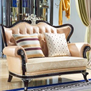 Home Sofa with Wooden Sofa Frame (105) pictures & photos