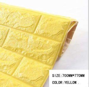 Anti-Corrosion Foam Brisk PE Foam Wall 3D PE Foam Wallpaper pictures & photos