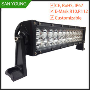 12 Inch 72W LED Work Light Bar Trucks Working pictures & photos