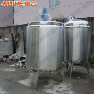 Cold and Hot Mixing Tank for Yogurt pictures & photos