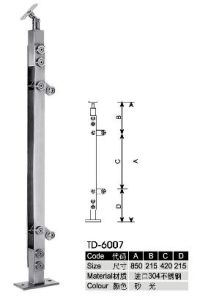 Staircase Handrail Made for 304 Stainless Steel pictures & photos