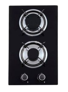 Hot Selling 2 Burners Tempered Glass Infrared Gas Hob Jzg32001 pictures & photos