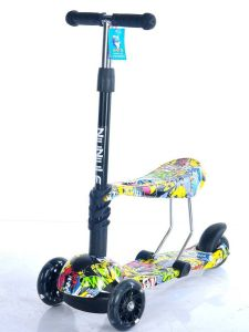 Three Wheel Kick Kids Children Scooter with Ce pictures & photos