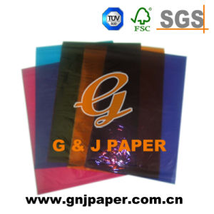 20GSM 30*40inch Red Color Wrapping Paper for Packaging pictures & photos