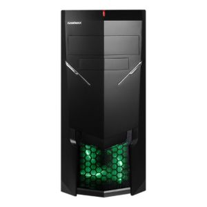 Gaming Case ATX Leatest Design with Big Window Side Panel pictures & photos