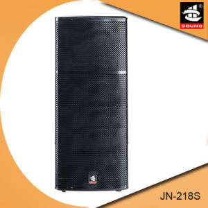 Dual 18 Inch Subwoofer Box Jn-218s pictures & photos