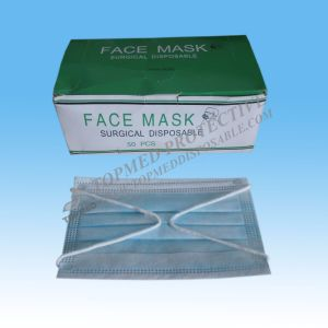Earloop Medical Face Mask, 3-Ply Surgical Face Mask pictures & photos