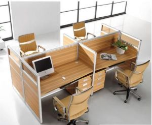 OFFICE TABLE-MDF/HPL pictures & photos